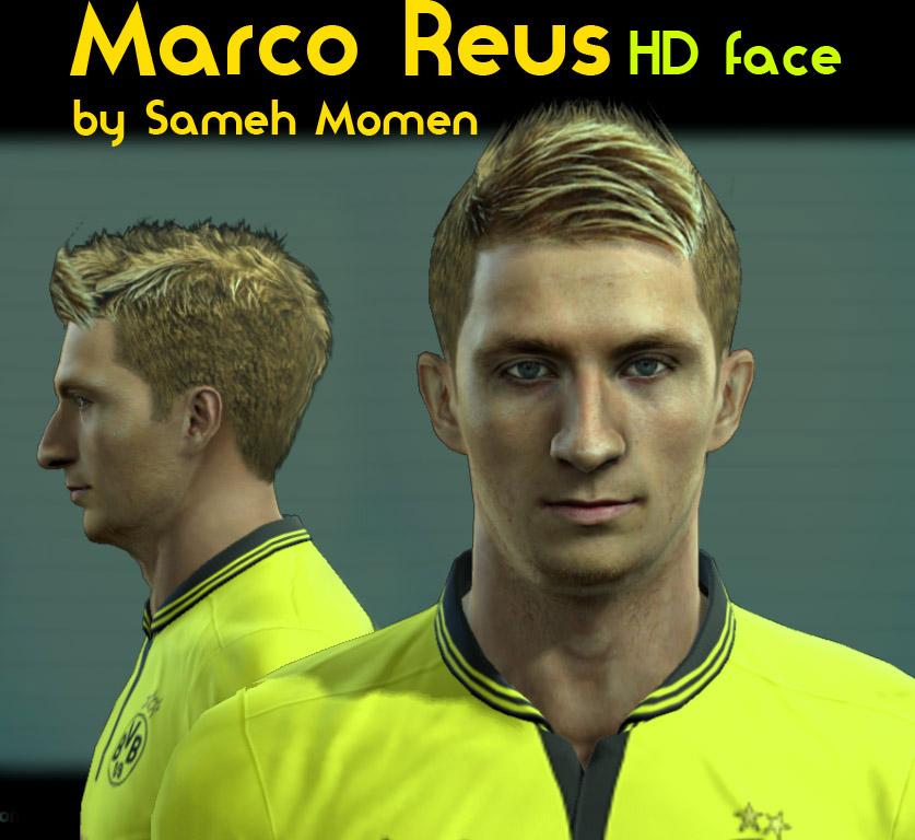 Марко ройс лицо в pes